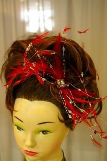花嫁さんのブーケ&髪飾り